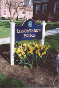 Longmeadow Police Sign