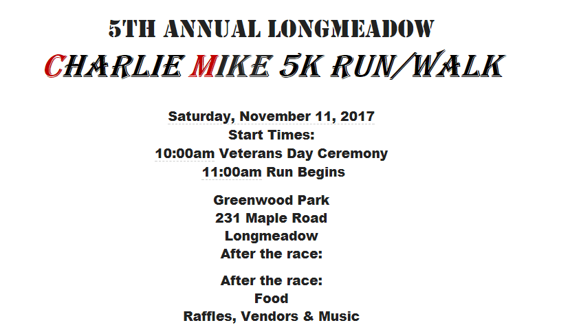 5th Annual Charlie Mike 5K Run-Walk