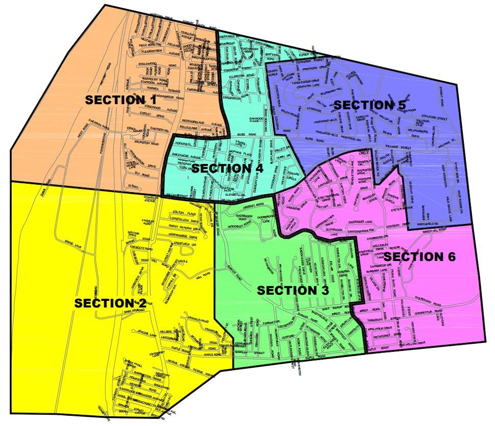 Hydrant Flushing Map
