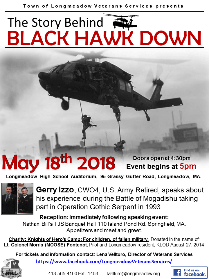 The Story Behind Black Hawk Down FLYER white (1)