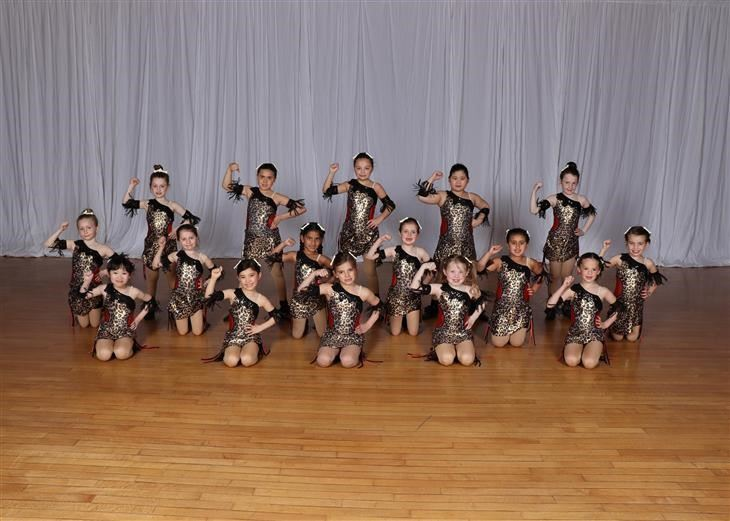 Pre-Ensemble Hip Hop Jazz-Ballet-Tap for Grades 1-3