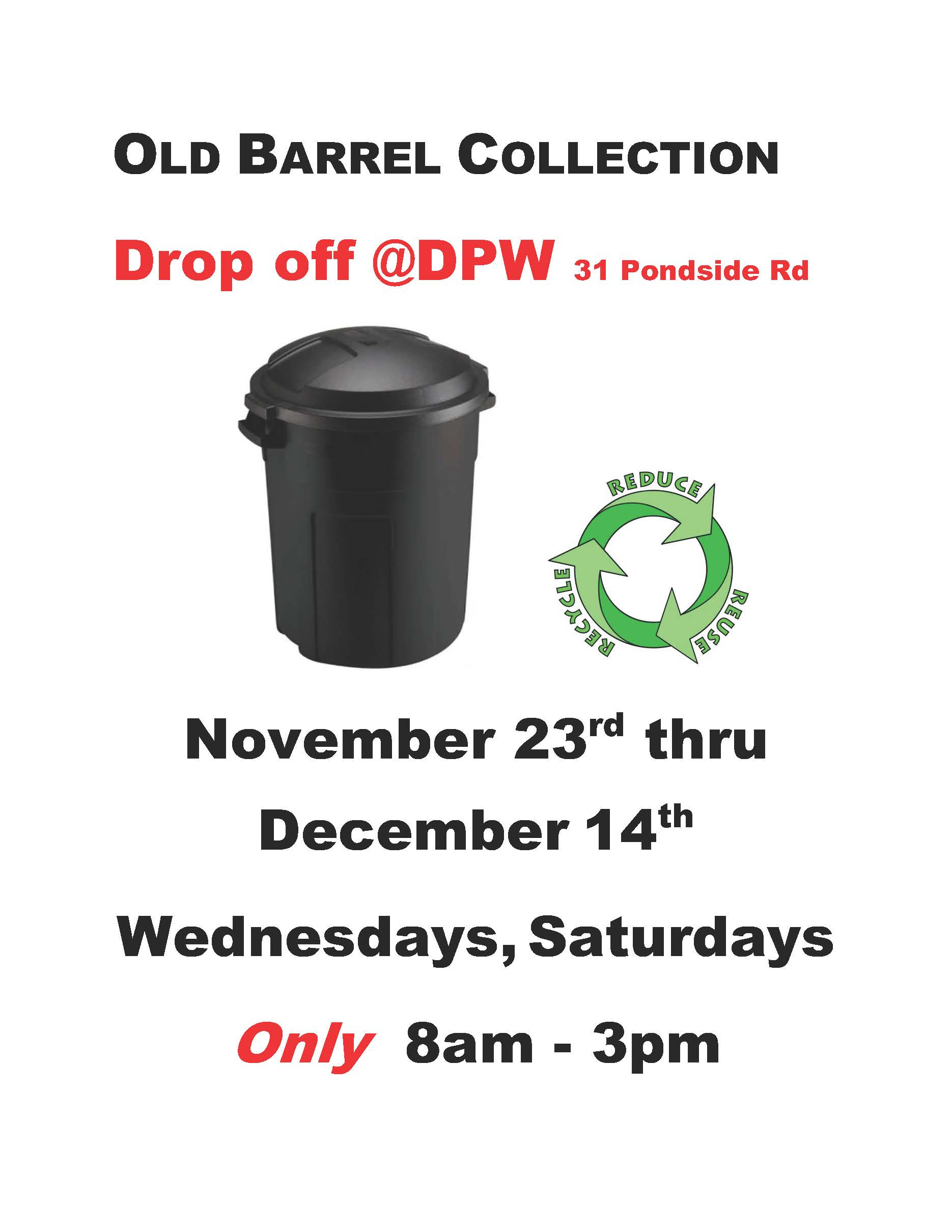 OLD BARREL COLLECTION flyer III