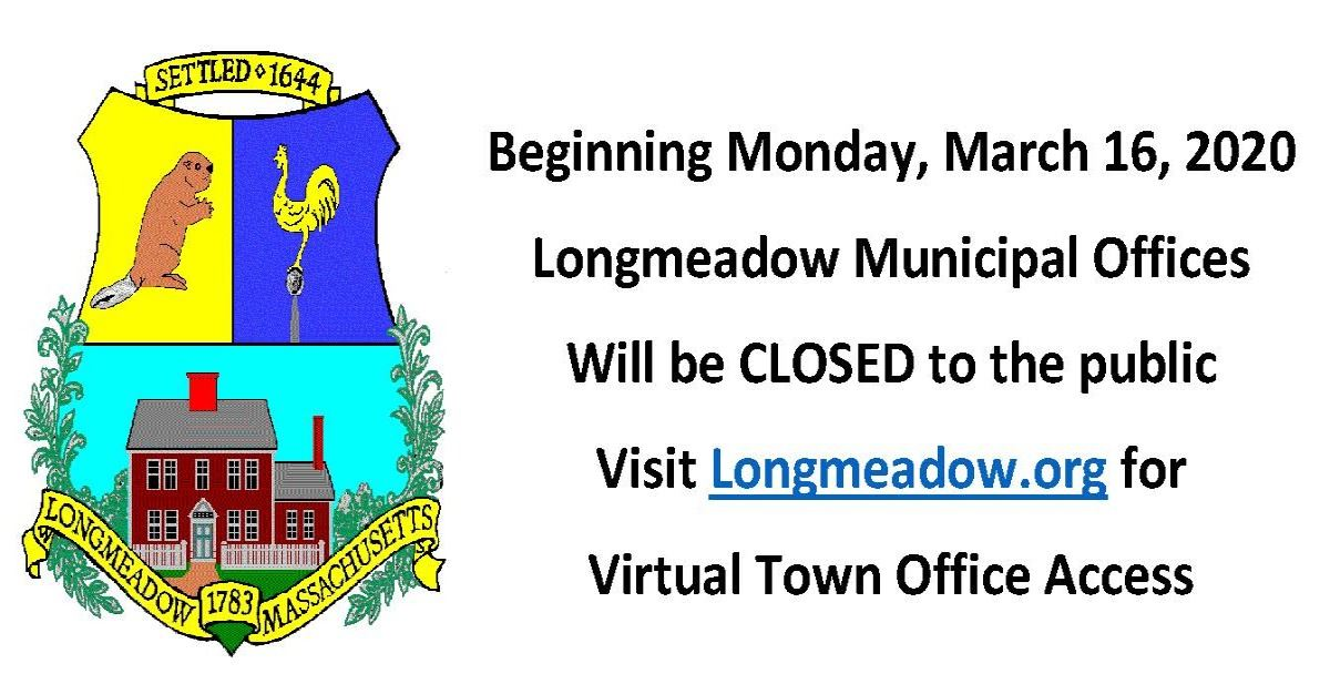 Town Offices Closed Virtual Town Hall Access