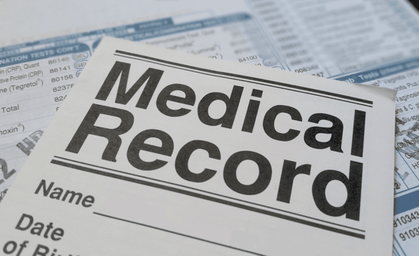 medical records image