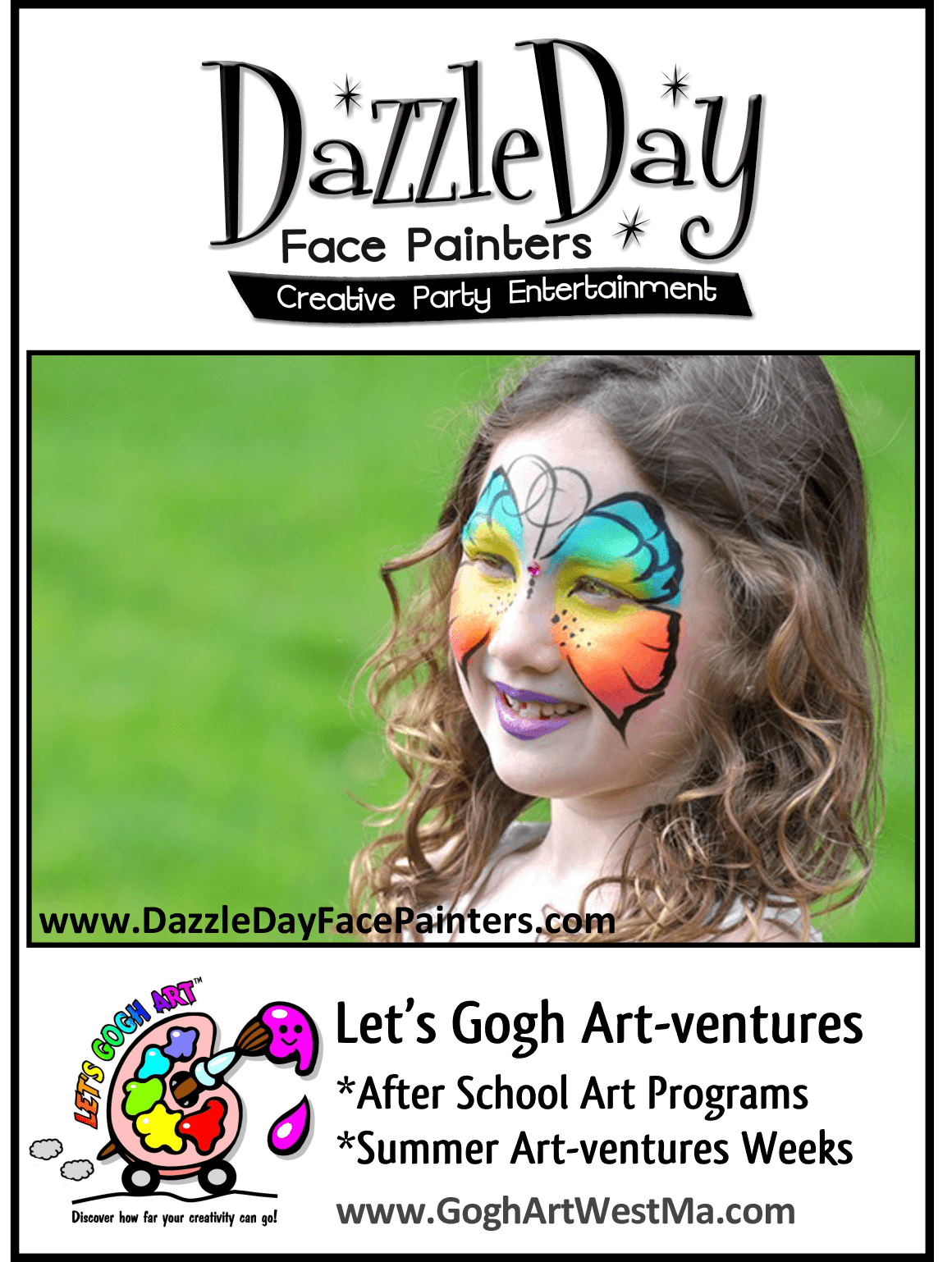 Lets Gogh Art and Dazzle Day